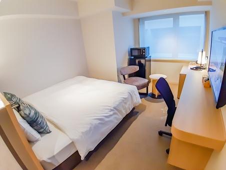 長期滞在セントラルルーム(18平米)ベッド幅183cm<禁煙