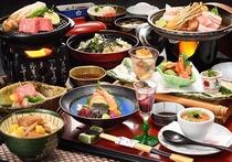 山景の宿 流辿夕食一例