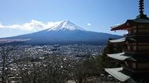 新倉山忠霊塔からの富士山(冬)