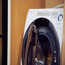 全室自動洗濯乾燥機付き