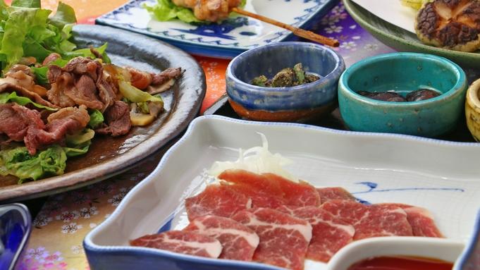 ◆【夕食付】朝早い出発にもオススメ☆夕食は素材で勝負!自慢の手作り料理♪