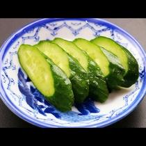 漬物名人のおばあが漬けた自家製野菜の漬物
