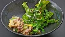 川俣シャモ_しっかりとした歯ごたえとお肉のうま味が噛むほどに味わえます