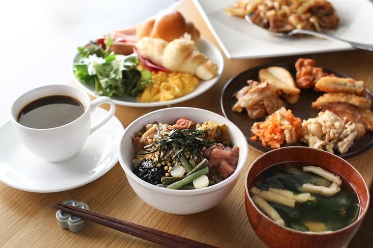 【朝食】(ビュッフェ)/朝食時間6:30~10:00(最終入店9:30)