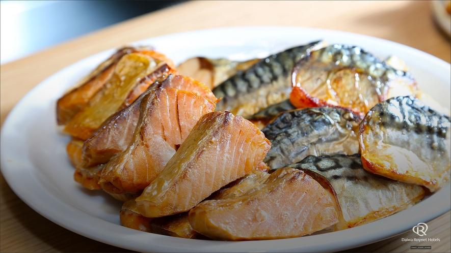 朝食(魚)/朝食時間6:30~10:00(最終入店9:30)