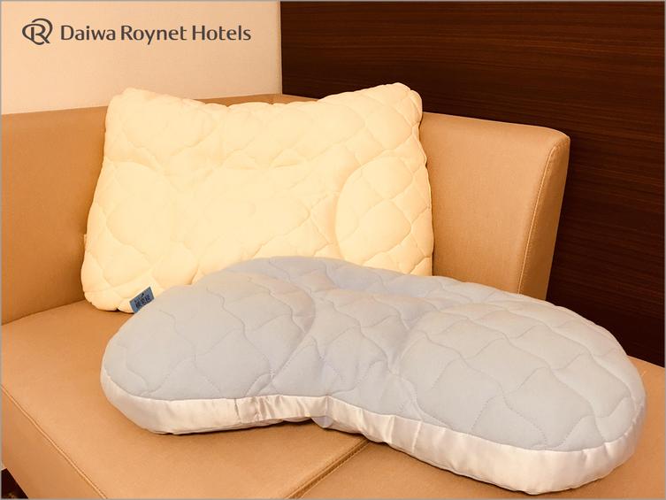 (前)もっと横楽寝・(後)もっと寝顔美人 ※フロントで貸出可能