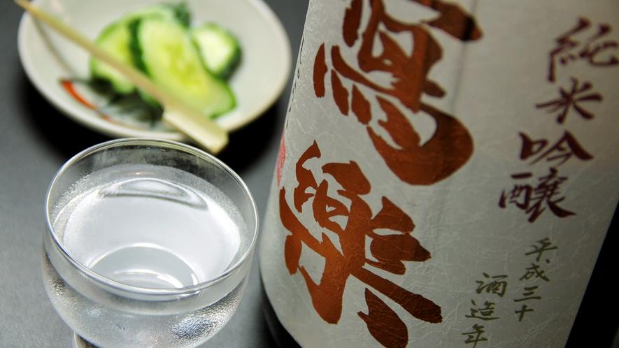 会津が誇る日本酒※ご注文の際は別途料金を頂戴しております