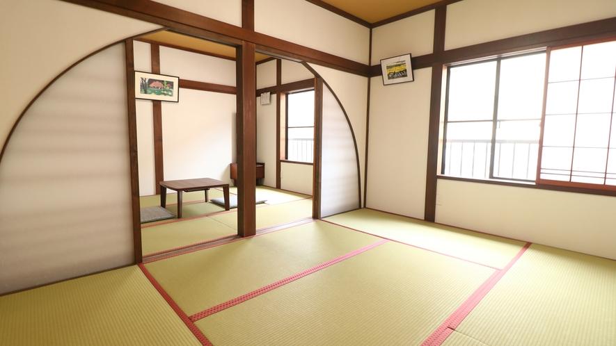 【広々和室12畳】広々とした和室でお寛ぎ下さい。