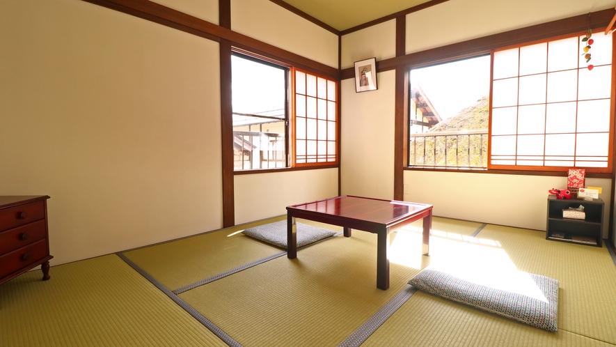 【和室6畳】1~2名様用和室。Wi-Fi完備しております。