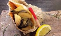 にし貝の焼き物