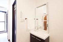 プライベートルーム洗面台