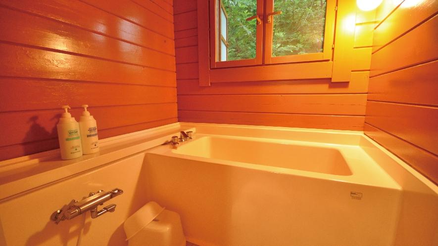 【白ログ】木の香りに包まれる風呂。