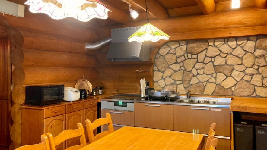 【ピーターパン】岩の壁のキッチン