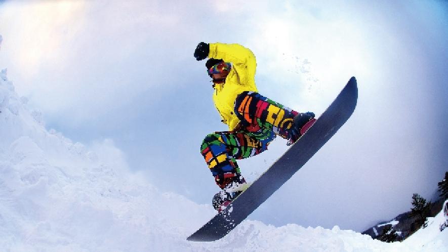 【周辺情報】スノーボード&スキーレッスン