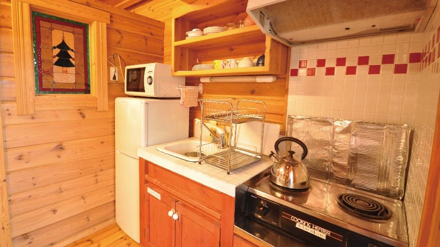 【赤&青ログ】充実の備品・設備で自炊も楽しくできます。