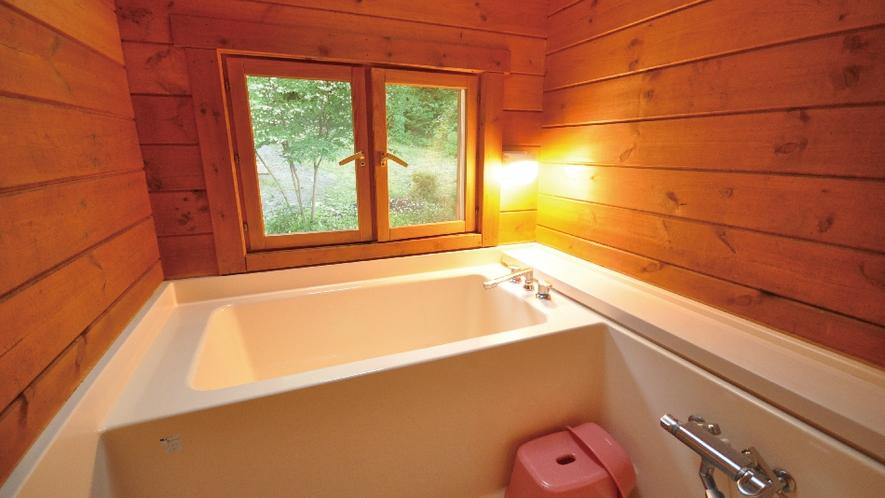 【赤&青ログ】天窓があって星を眺めることができるお風呂。