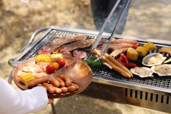 【大学生様必見!!2組限定!!】夕食BBQ付き ワンフロア貸切宿泊プラン(夕食あり・朝食なし)