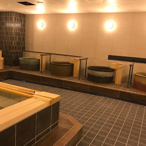 ◆女性大浴場 営業時間17:00~翌朝9:00