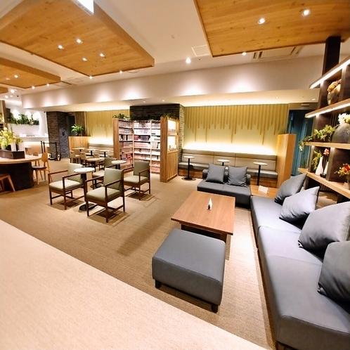 ◆ソファでのんびり過ごしながら、マンガ、コーヒー、大浴場 これはハマります♪