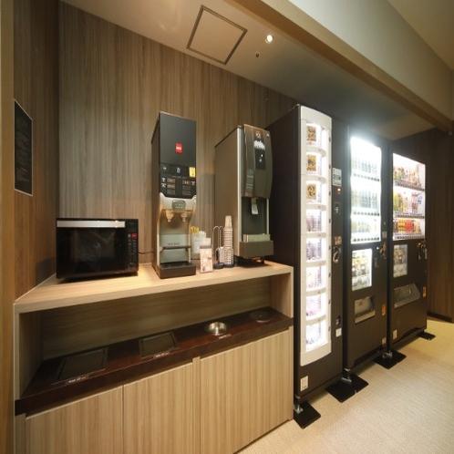 ◆ドリンクコーナーではコーヒー・ジュースが無料サービスです♪