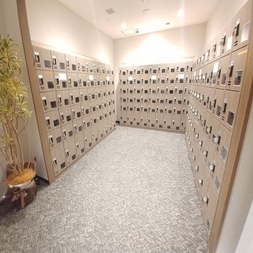 ◆下足箱 コインロッカーでセキュリティも万全