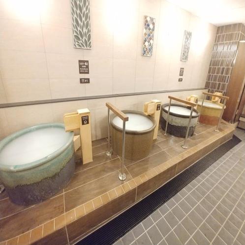 ■女性用大浴場の「シルキー風呂」 お肌もすべすべに