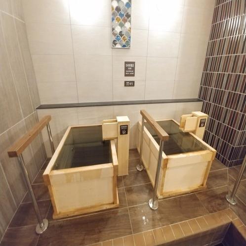 ■女性用大浴場のひのき風呂 すこ~し熱めにしています