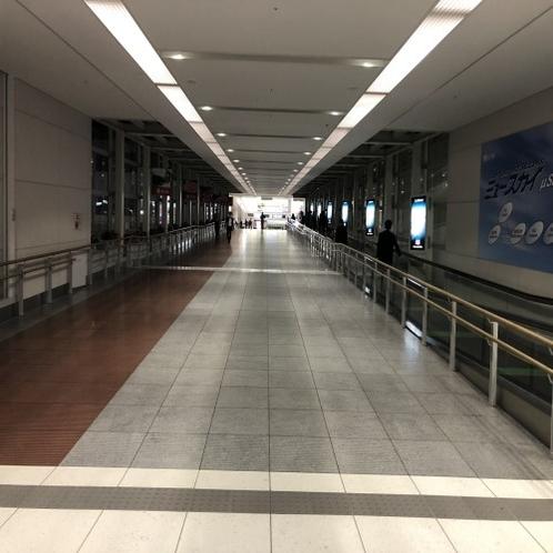 中部国際空港から浜松駅行きシャトルバスまで③