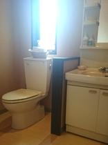 禁煙室トイレ・洗面