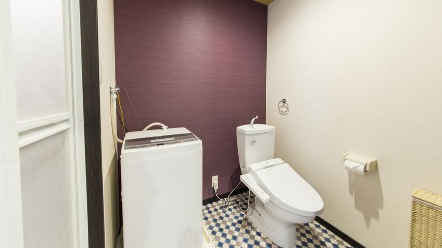 トリプルルームトイレ