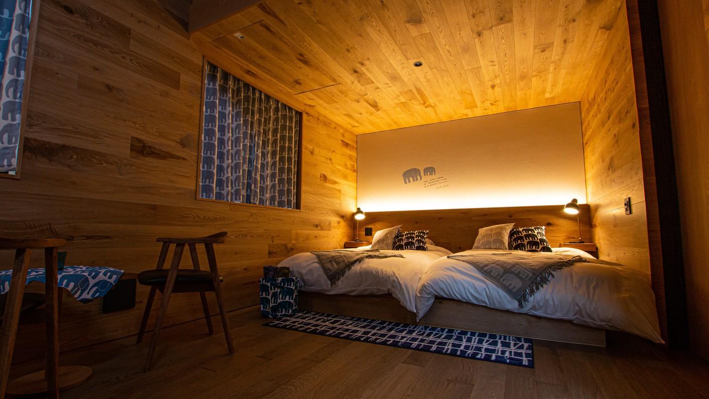 サウナスイートキャビン寝室