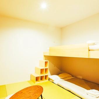 【男性専用】和室(二段ベッド)