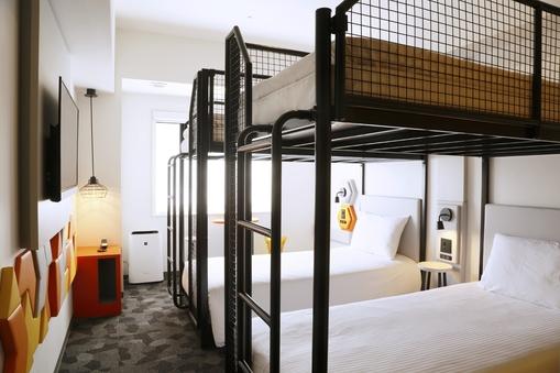 スーペリア4ベットルーム【禁煙】2bunk bed