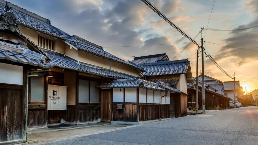 【外観】旧京街道の宿場町として栄えた福住