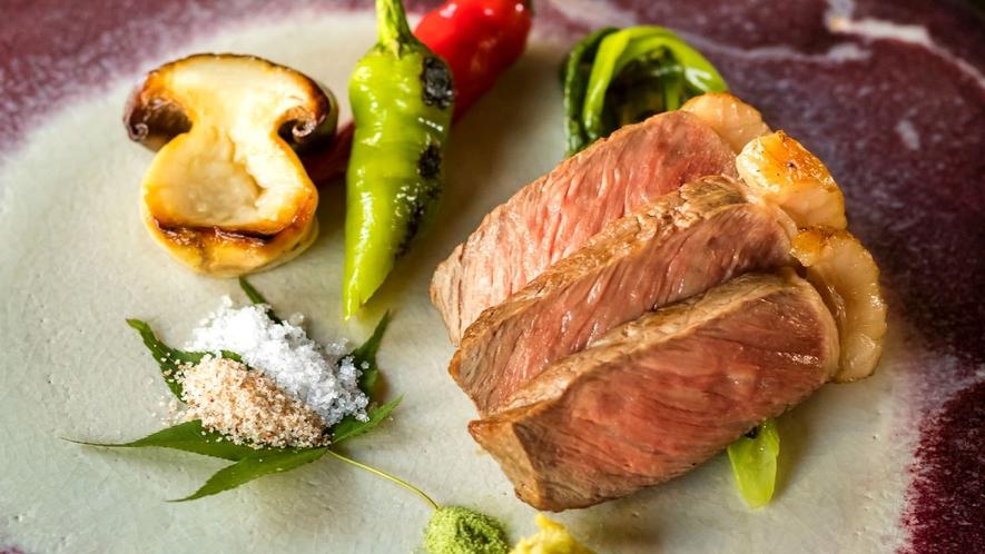 【お食事】神戸牛・近江牛のルーツである高級黒毛和牛「但馬牛」