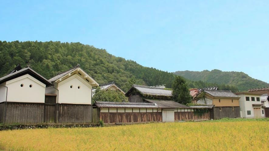【まち並み】宿場町と農村集落が連続する全国でも珍しい日本の原風景が残っています。
