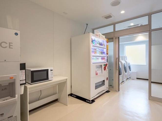 ◆自動販売機・製氷機・電子レンジ◆24時間ご自由にご利用いただけます