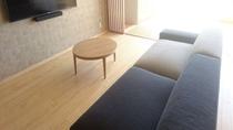 ゆったり寛げる家具の一部
