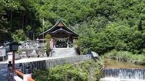 IBUKUから車で5分程 大頭神社