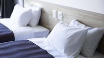 枕は2種類。お好みの方を