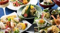 五感で楽しむ「IBUKU会席」料理長が心を込めて・IBUKUでしか食べられないお料理をご堪能下さい