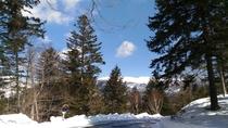 真冬の光景
