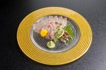 食材は、地元茨城県産の山海の幸を