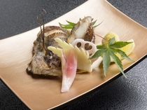 地元茨城県産 旬の焼き魚