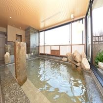 ◆大浴場内湯 奥行たっぷりの広々空間♪