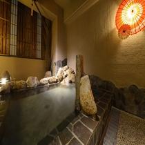◆大浴場露天(夜)