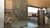 ◆男性大浴場◆水風呂(16-17℃)