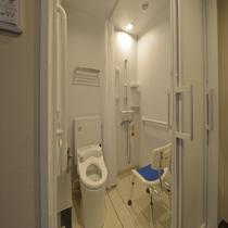 ◇禁煙◇バリアフリールーム ゆったりとしたユニットシャワー完備♪