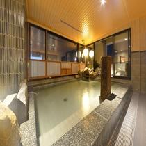 ◆大浴場内湯(夜)