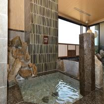 ◆大浴場水風呂(男子浴場) キンキンに冷えた冷水で火照った身体を一休み♪